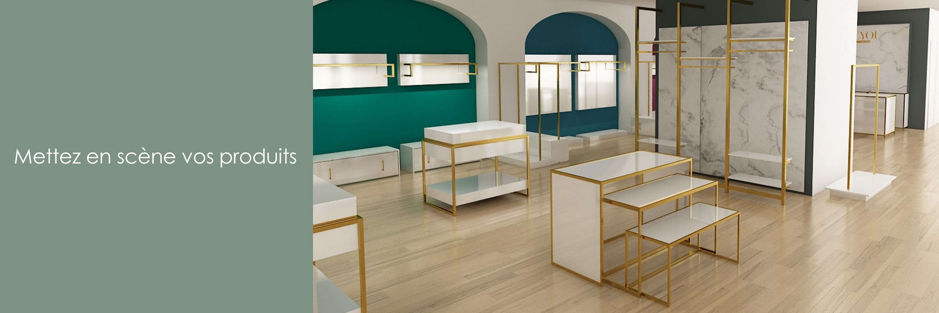 Display tables for shops | Ceolini.fr